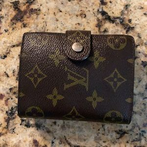 LV bifold wallet- authentic